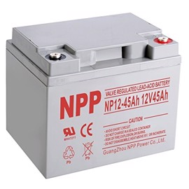 NPP Power 12 volts blybatteri 45Ah