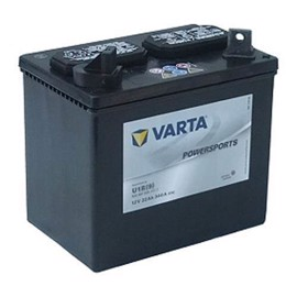 Varta  Fun start MC batteri 12 volt 22 Ah (+pol till vänster)