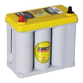 Varta Optima YELLOW TOP 38 Ah Bilbatteri 870-176