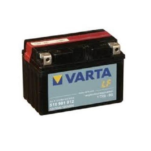 Nykomna Varta 510 901 012 MC batteri 12 volt 10 Ah (+pol till vänster) FS-86