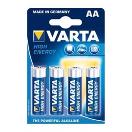 Varta LR6/AA High Energy alkaliska batterier