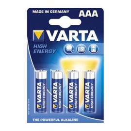 Varta LR03/AAA High Energy alkaliska batterier