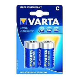 Varta LR14/C High Energy alkaliska batterier